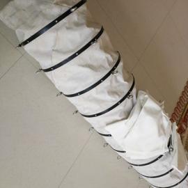 水泥散装伸缩布袋 散装水泥伸缩软连接
