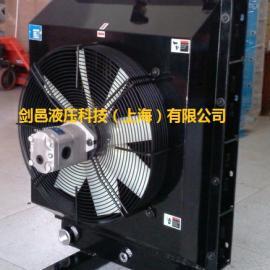 替代型爱克奇AKG-T系列全液压钻机液压油散热器风冷却器