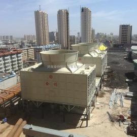 河南金创JCR系列横流式玻璃钢方塔优质生产厂家甘肃冷却塔