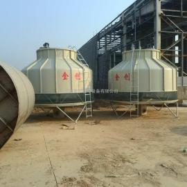 河南金创JC系列逆流式玻璃钢圆型冷却塔生产厂家商丘冷却塔