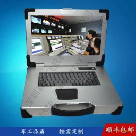 15寸上翻新款便携机机箱定制军工电脑外壳加固笔记本