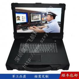 15寸上翻工业便携机机箱定制军工电脑外壳加固笔记本