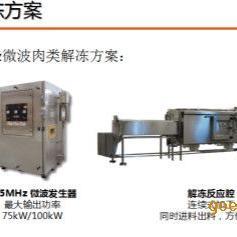 微波解冻设备_解冻设备_专业厂家定做微波解冻设备