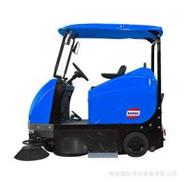 西安清洁设备 陕西工业园区工厂厂房车间电瓶清扫车电动保洁设备