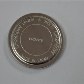 日本原装进口索尼CR2450宽温3V纽扣电池