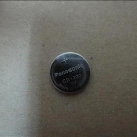 日本原装进口松下CR1220一次性3V纽扣电池