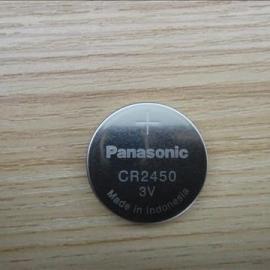 日本原装进口松下CR2450一次性3V纽扣电池