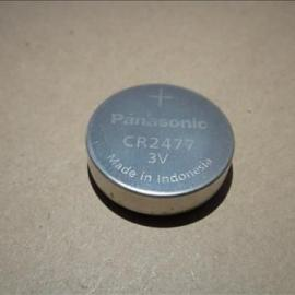 日本原装进口松下CR2477一次性3V纽扣电池