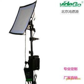 专业摄影灯具柔片灯50W可弯曲双色温便携柔片灯超薄柔片灯