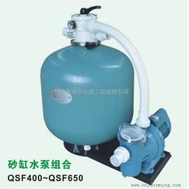 爱克砂缸水泵组合