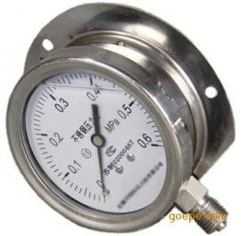 径向带边耐震不锈钢压力表,径向后边耐震不锈钢压力表