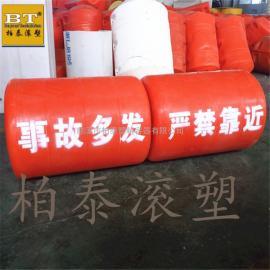 九江水域垃圾隔离浮筒 组合式塑料拦污排厂家价格