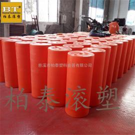 宁乡县低密度PE拦污浮筒 水下防护网塑料浮筒厂家