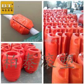 衡东县水上自浮式塑料浮筒 升降式塑料拦污排