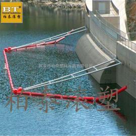 水电站拦污浮筒 环保型水上塑料拦污排价格