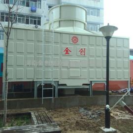 金创横流式玻璃钢方型冷却塔厂家直销宝鸡冷却塔