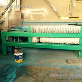 橡胶板框压滤机、自动拉板板框压滤机的特点/诸城善丰机械板框