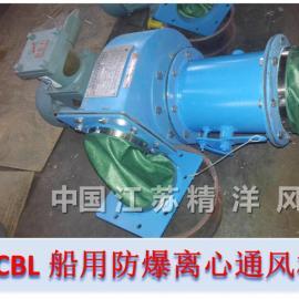 关于船舶CBL系列防爆离心通风机工作原理