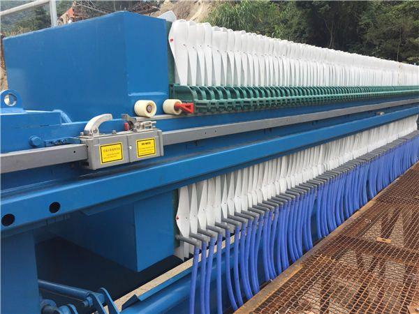 新型250平方压榨机 自动卸料专业污水处理环保设备