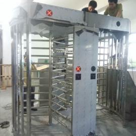 河北监狱看守所戒毒所安防120度全高转闸十字全高闸门禁系统