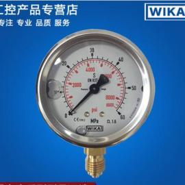 wika压力表 耐震压力表