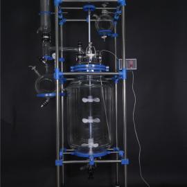 SF-100D双层玻璃反应釜/器(100升)