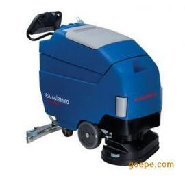 德国奥林匹斯RA55 B40洗地吸干机 手推式洗地机
