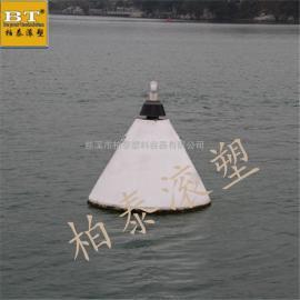 (安装图)秦皇岛航道警戒浮标实心防腐浮标施工
