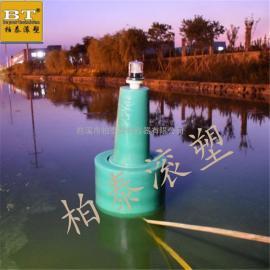 航道锚系浮标 船只拦截塑料浮标(现场图)