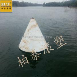 鄱阳湖危险警示浮标船只拦截浮标安装(图)