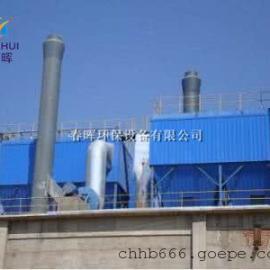 2吨生物质锅炉布袋除尘器旋风除尘器+阻火器防阻燃设计方案