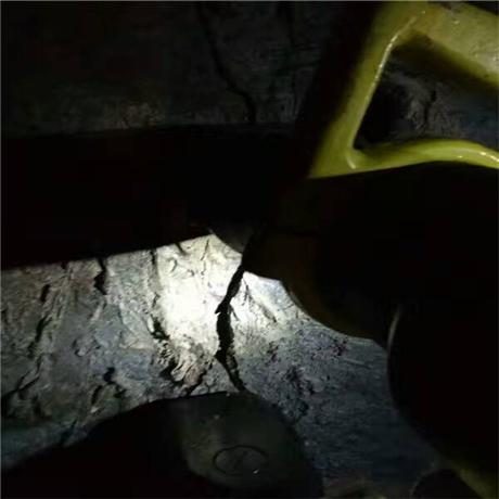 洞采岩石分裂机