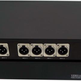 8路卡侬头 XLR 平衡音频光端机/广播甲级音频光端机