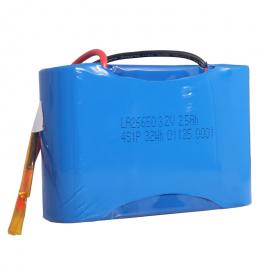 低温-30℃放电 26650磷酸铁锂电池组12.8V 2500mAh