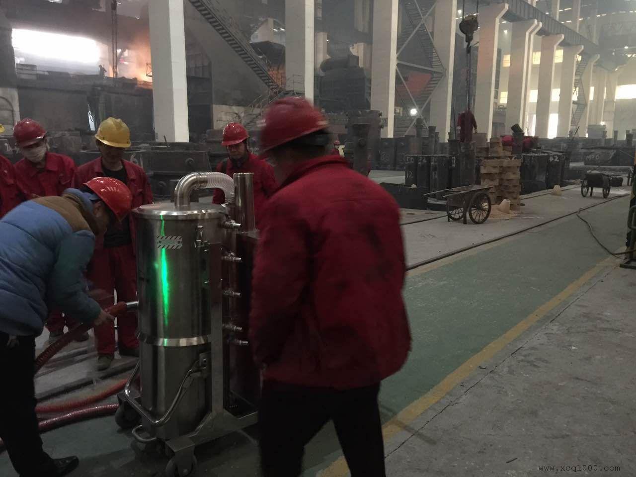 工业用耐高温工业吸尘器3000W吸尘吸水机威德尔HT110/30