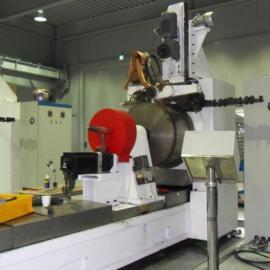 高精度纯圆无棱角绕丝筛管焊接机