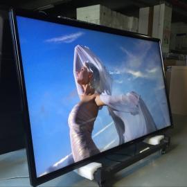 大厅展示98寸查询触摸一体机,98寸壁挂式触摸显示器