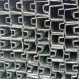 镀锌带凹槽管-凹槽管-热镀锌凹槽管