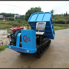 2017款长沙嘉冠农用款1吨型履带运输车