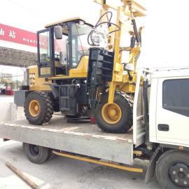 新疆护栏打桩机厂家/DZJ-490打桩机