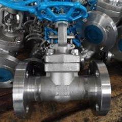 J41W-40P 不锈钢锻钢法兰截止阀