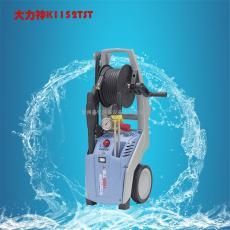 大力神冷水电动高压清洗机清洗小广告牛皮廯洗车用高压清洗机
