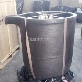 津大碳化硅石墨坩埚 带嘴电炉碳化硅坩埚