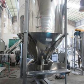 3吨塑料造粒颗粒立式搅拌机供应