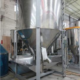PP塑料粒子立式拌料机 2吨不锈钢立式拌料机