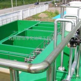 苏州工业园区FRP污水池防腐,酸碱池重防腐,玻璃纤维防腐地坪