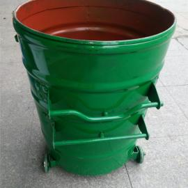 LF-L01铁环卫垃圾桶 惠州铁皮垃圾桶 惠州大铁桶