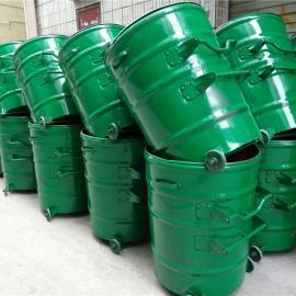铁制垃圾桶 铁质垃圾桶 铁皮垃圾桶LF-L01