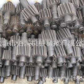 S111/S112/S114混沙机齿轮配件 高速轴 刮板配件