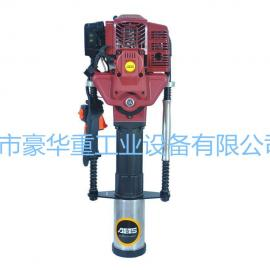 植管机HH95MP一体式汽油驱动水利用打桩机